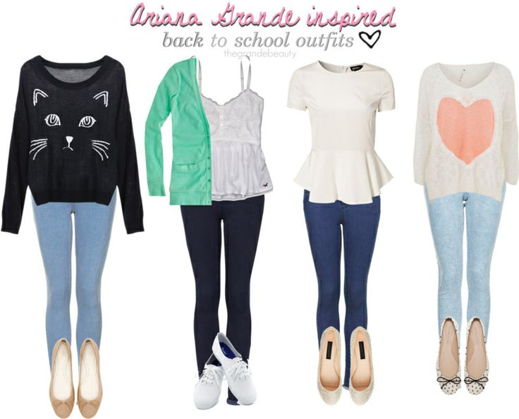Ariana Grande Inspired Outfits for School! ^__^