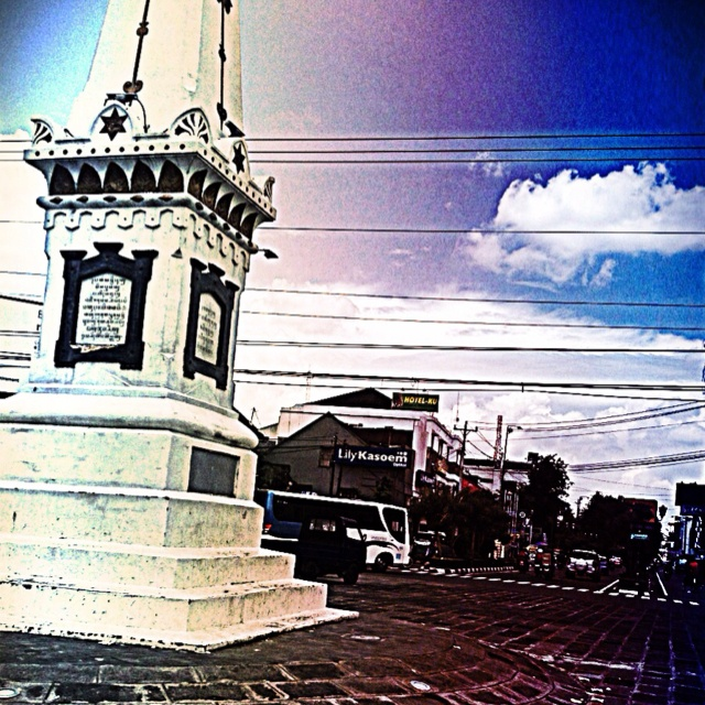 A city landmark. Jogjakarta, Indonesia.