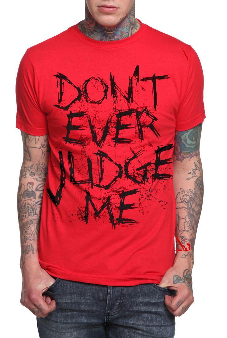 Slipknot Judge T-Shirt   Hot Topic