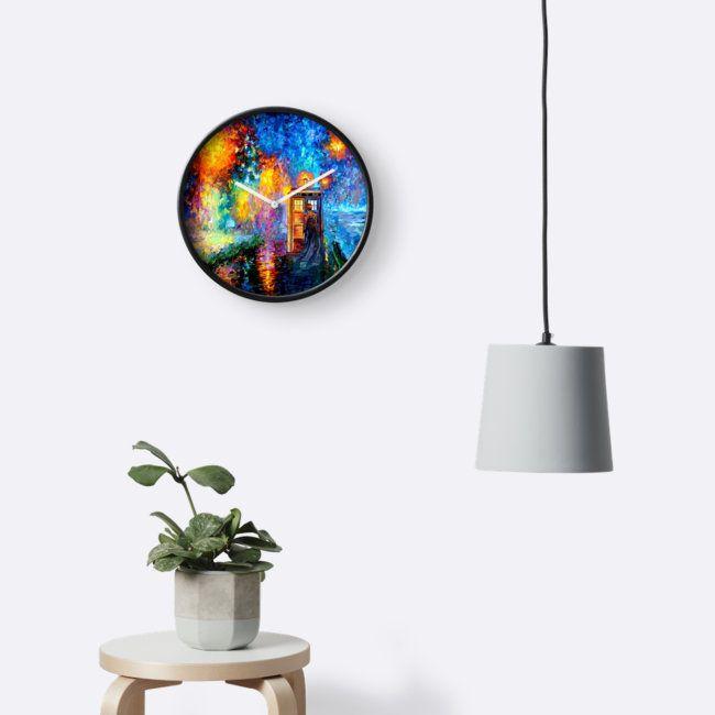 Mysterious Man at beautiful Rainbow Clocks @pointsalestore #Clocks #wallclock #painting #abstract #drawing #ink #art #tardis #doctorwho #phonebox #phonebooth #badwolf #starrynight #vangogh #halloween #bluephone #timemachine #timetraveller #davidtennant #timevortex #strangecity