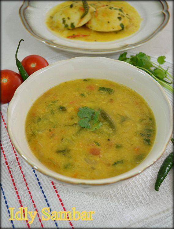 Manjula S Kitchen Sambar