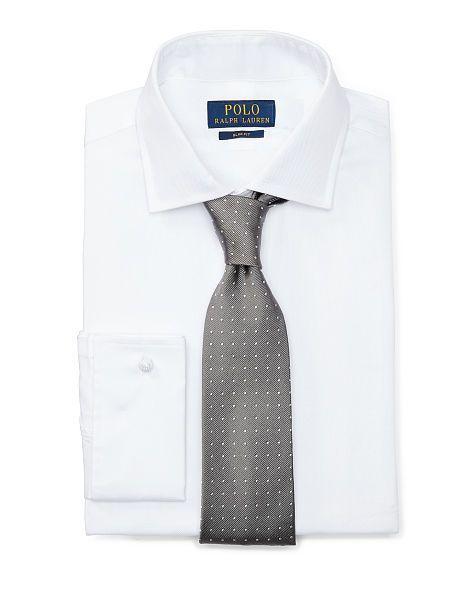 Slim Cotton French Cuff Shirt - Polo Ralph Lauren New Arrivals - RalphLauren.com