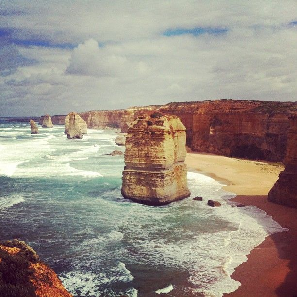 The Twelve Apostles in Port Campbell, VIC