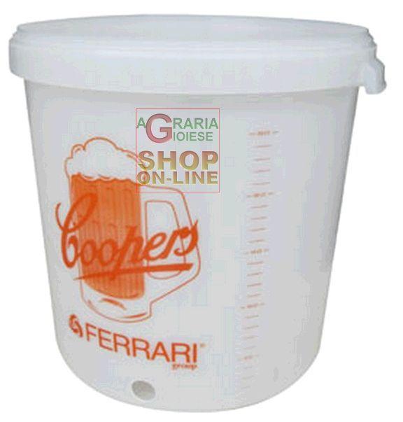 FERRARI CONTENITORE COOPERS PER FERMENTAZIONE BIRRA https://www.chiaradecaria.it/it/accessori-per-kit-birra/6538-ferrari-contenitore-coopers-per-fermentazione-birra-8006818452408.html