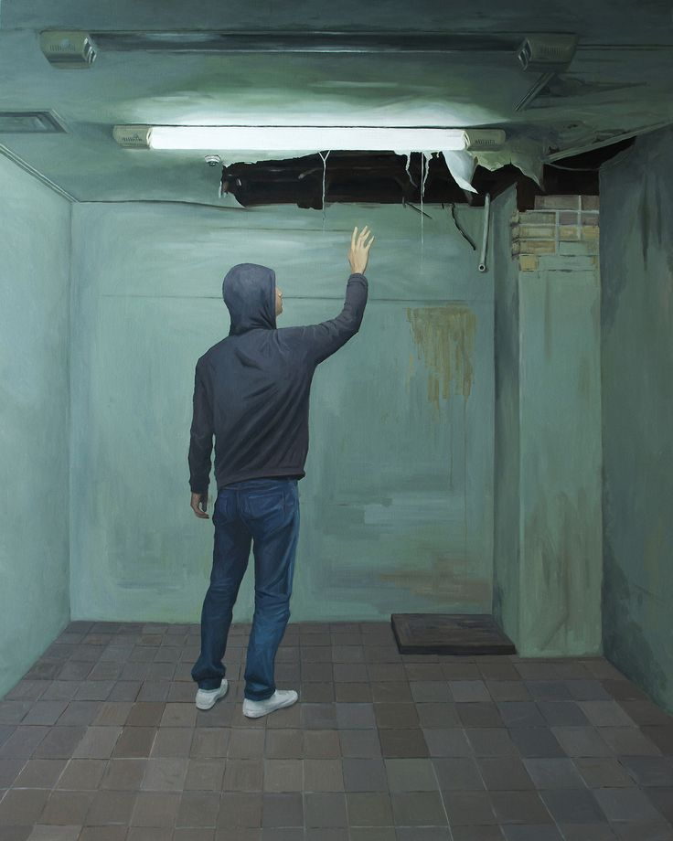LEE SONG - the hole,oil on canvas , 162.1× 130.3cm, 2013