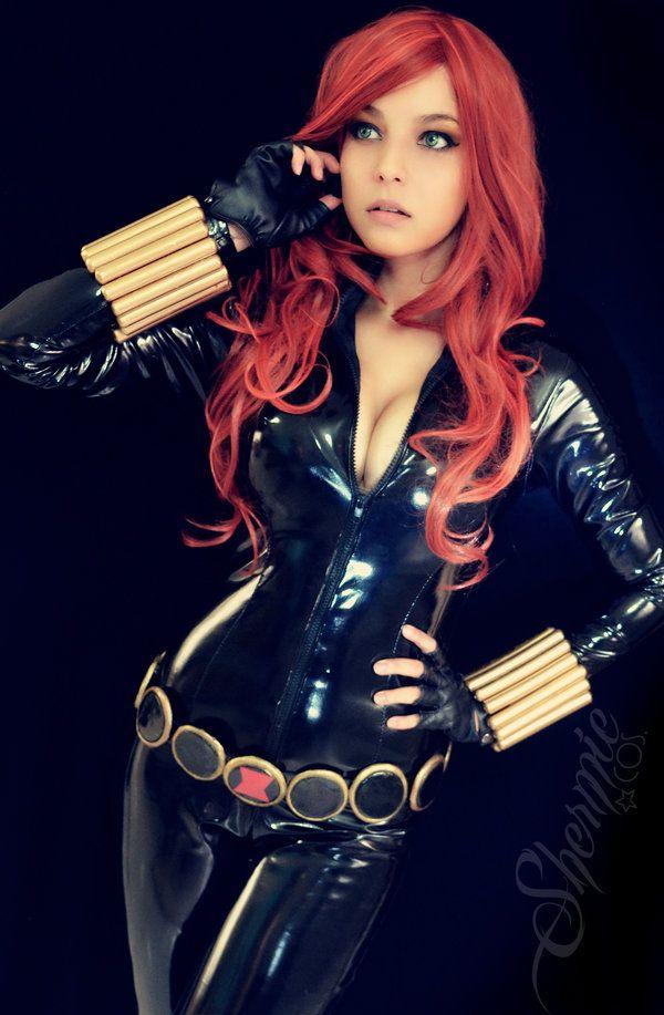 Black Widow 2.0 by Shermie-Cosplay Follow us on Twitter - http://twitter.com/hotcosplaychick