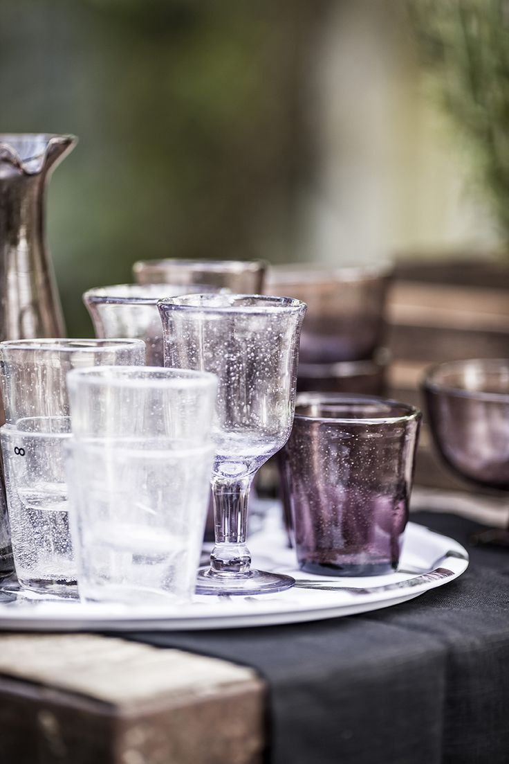 SPRING glassware   Design by Eightmood   MAISON SS16
