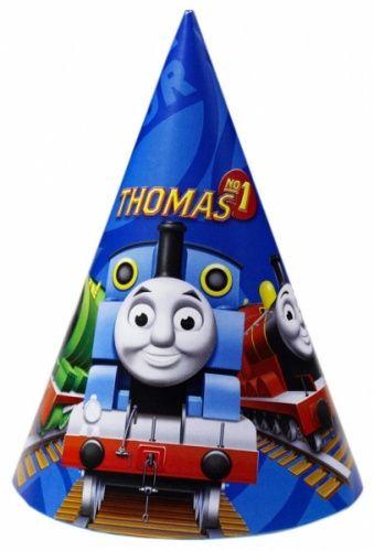 6 cappellini da festa Il trenino Thomas™