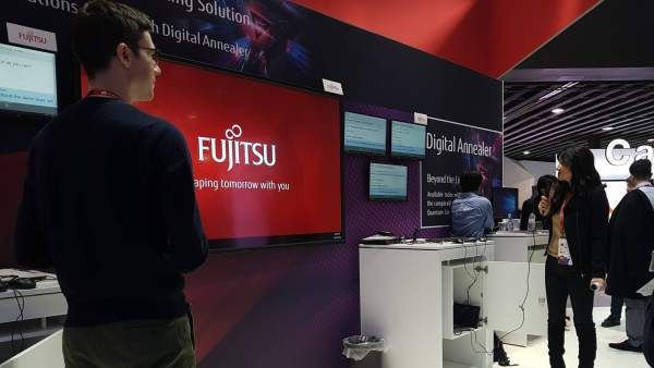 Fujitsu presented in the MWC 2018 Live Talk a sophisticated real-time translator based in artificial intelligence  A woman test Live Talk the real-time translator of Fujitsu. @Fujitsu_ES  The japanese company Fujitsu has presented at the Mobile World Congress 2018 Live Talk a multilingual translator in 19 languages including Catalan only up to the moment on the market.  In particular it is a solution based on artificial intelligence engine and a cloud which recognizes a speakers words and…