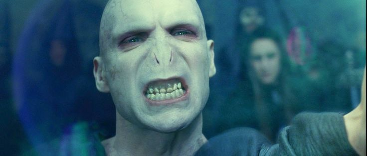 Ralph Fiennes as Voldemort, HARRY POTTER AND THE ORDER OF THE PHOENIX (2007) (Makeup Artists: Nick Dudman and Amanda Knight)  I have a confession: I've never seen any Harry Potter films. Let the stoning begin! I have every intention to as soon as possible. But, in choosing this list, I had to venture to even places I hadn't been before. I actually had to do some research, too, because I could've sworn that Ralph Fiennes' makeup as Voldemort was probably mostly digital animation. It is not…