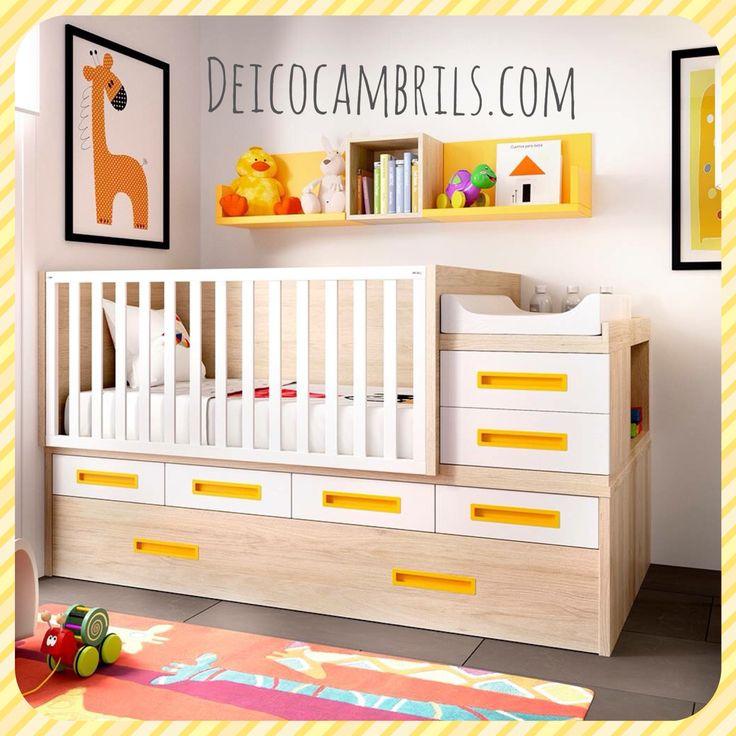Mejores 13 imágenes de Habitaciones baby en Pinterest | Cuna ...