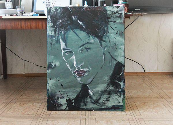 sad Tom Hardey`s portraits on Behance