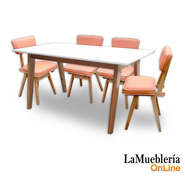 Las 25 mejores ideas sobre sillas de comedor retro en for Mueblerias on line