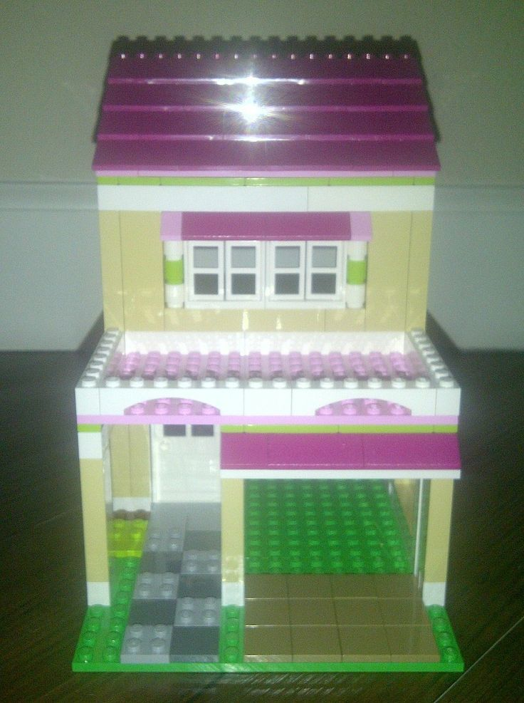 Lego Friends 3315 Olivias House Custom Garage Addition