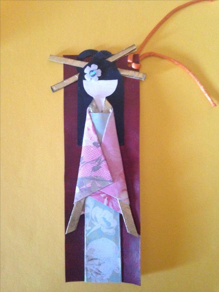Bookmark geisha