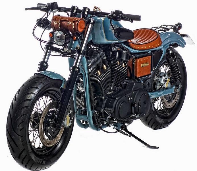 Harley Davidson Sportster Bobber Motorcycle