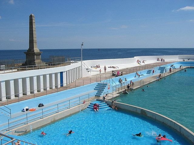 Jubilee Pool, Penzance, stayed near here and it is fabulous - nice coffee shop too