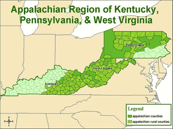 43 comparing populations appalachia example stat 507 appalachian mountainsmarylandgenealogykentuckyvirginiamapsfolkpopularfamily