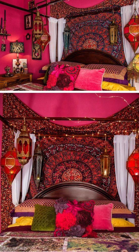 Best 25+ Bohemian bedroom decor ideas on Pinterest