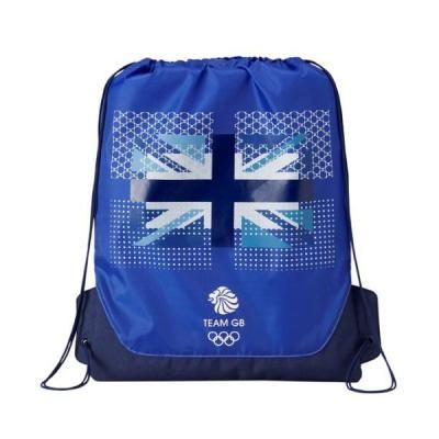 London 2012 Olympics Team GB Bag. A patriotic souvenir with a practical design, this lightweight Olympic bag has multiple uses – from a gym bag to a backpack. The official Team GB logo and the Adidas Union jack logo make it a fun keepsake for the future. #london2012 #olympics