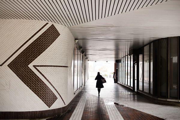 70's architecture in Beaugrenelle area, Paris by sgaze , via Behance
