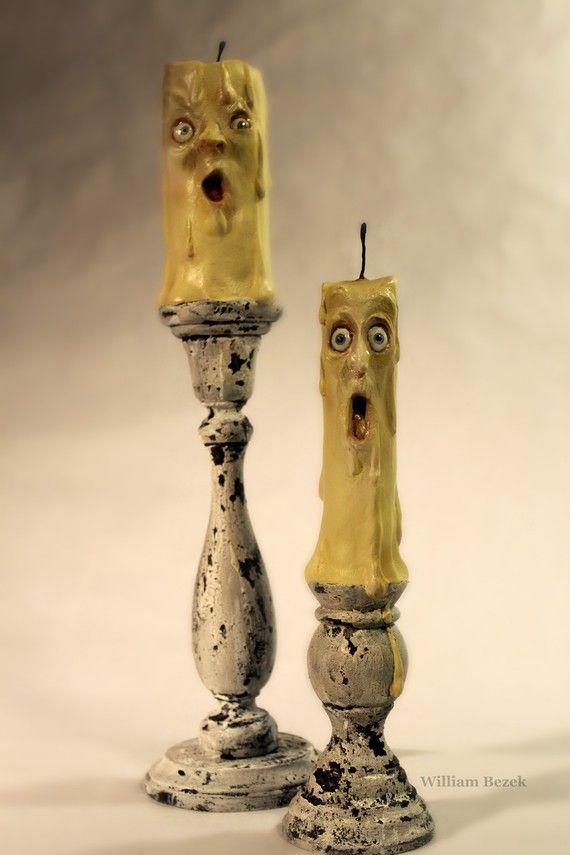 Bezek set of 2 candles~