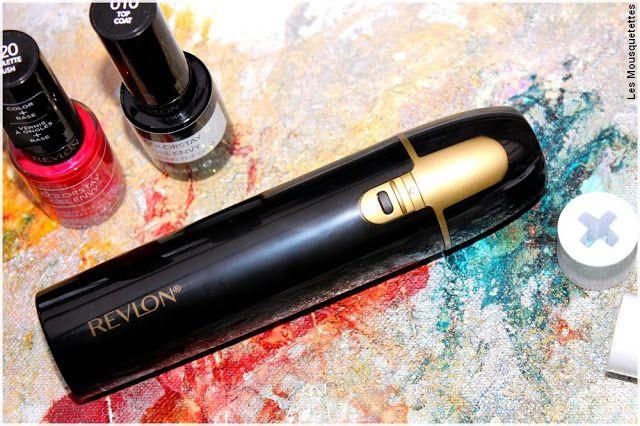 Revlon Shine Addict Nail Buffer - Polissoir électrique pour ongles - Avis blog beauté Les Mousquetettes