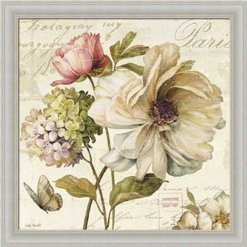 Vintage floral wall art google search