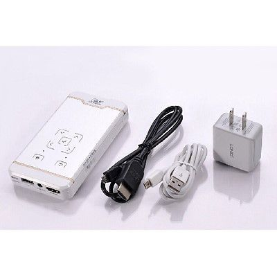 Mini Pocket Portable HD LED DLP WiFi Home Cinema Projector for iPhone 6 6s Tab