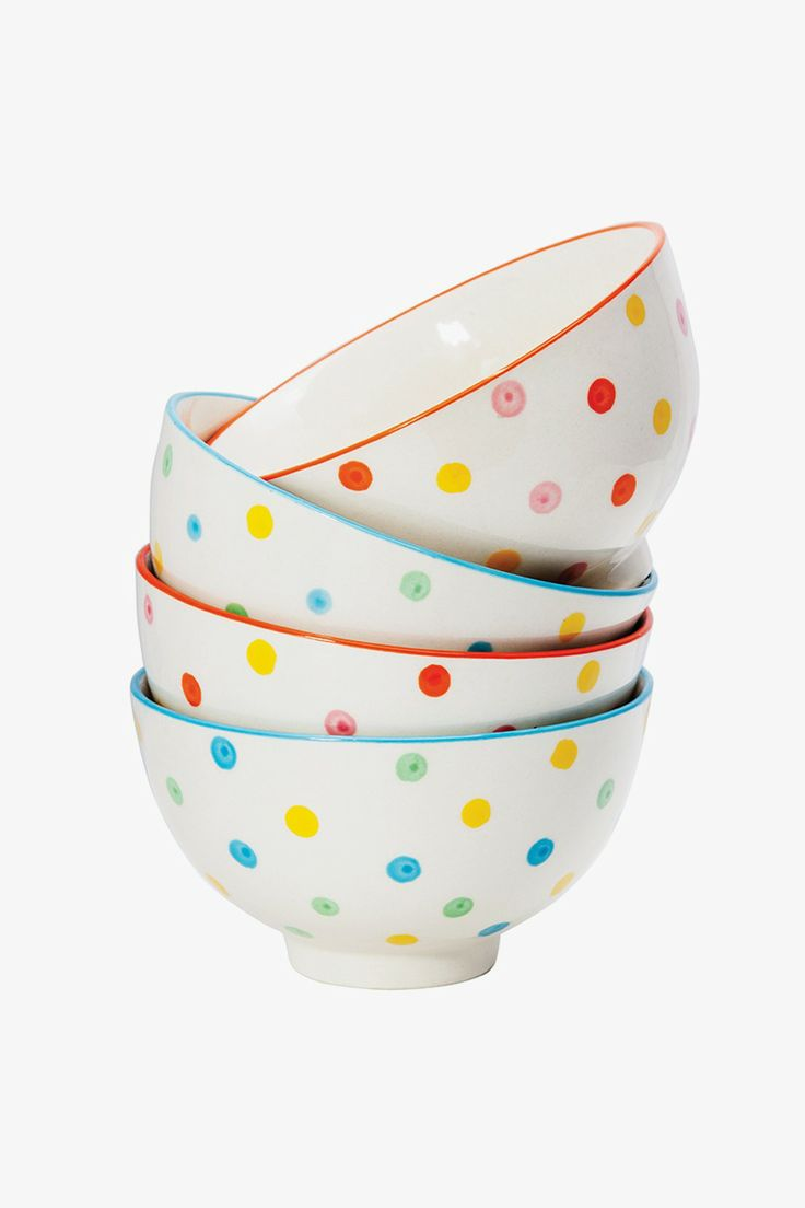 General Eclectic Dotty Bowl Set available at Superette #superettestore