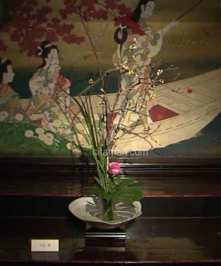Pameran Seni Ikebana Khas Dari Jepang