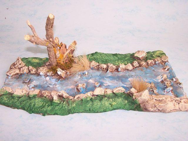 Puentes , Rios, Lagunas y oasis - Nativity Set Belenes Laravid