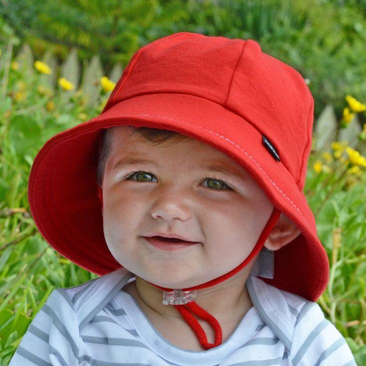 Bedhead Kalap - Baby Bucket Hat a szíj a lányok és a fiúk UPF 50+ Sun Protection.