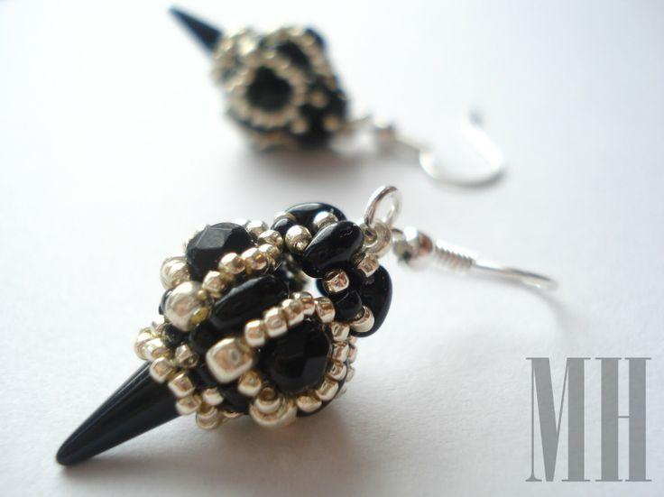 Czarna elegancja | MH Biżuteria - cuda ręcznie wykonane