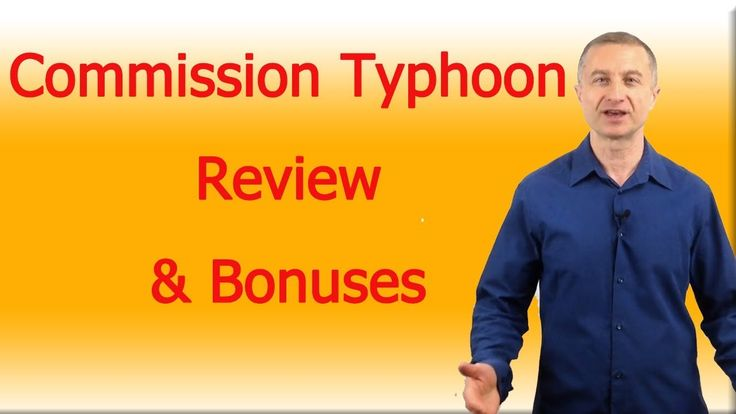 Commission Typhoon Review https://youtu.be/gOrg9V-bwrA