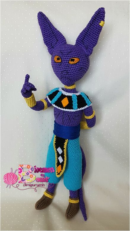 Bills amigurumi, dragon ball | Amigurumi | Pinterest