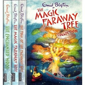 Enid Blyton's The Enchanted Woods series. These were my absolute favourite books as a kid.