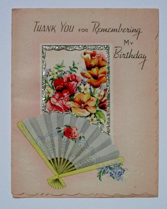 ANNIVERSARY LOVE MAY ARTS VINTAGE PRINT COTTON RIBBON-THANK YOU HAPPY BIRTHDAY