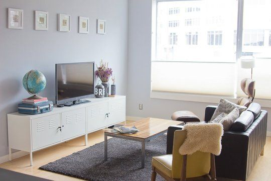 Kathryn & Joey 's Eclectic, DIY Condo — House Call