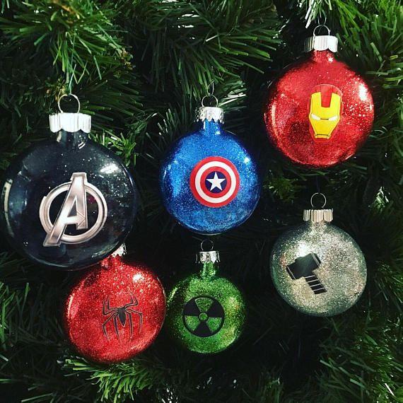 Disney 2021 Christmas Ornament Superhero Ornaments Avengers Inspired Set Set Of 6 Etsy In 2021 Disney Christmas Ornaments Christmas Ornaments Diy Christmas Ornaments