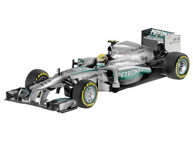 MERCEDES AMG PETRONAS Formula One™ Team, 2013, Lewis Hamilton  silver, Minichamps, 1:43 Part number:    B66961218 Colour:    silver Material information:    metal Material property:    painted