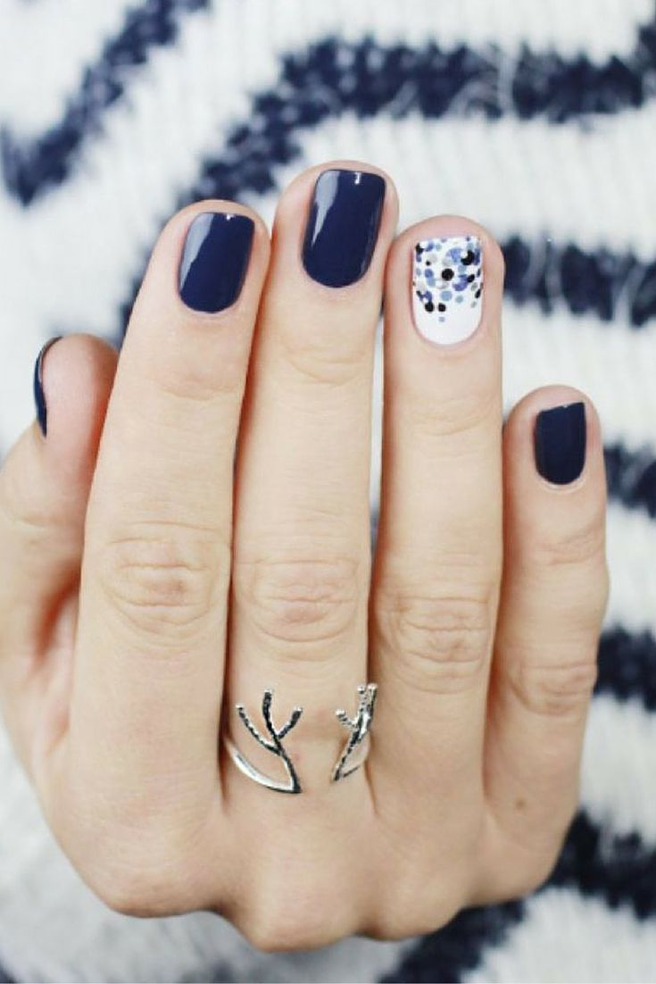 Top 25 Ideas About Winter Nail Designs On Pinterest