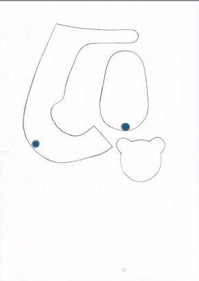 Resultado de imagem para fondant baby shoe template