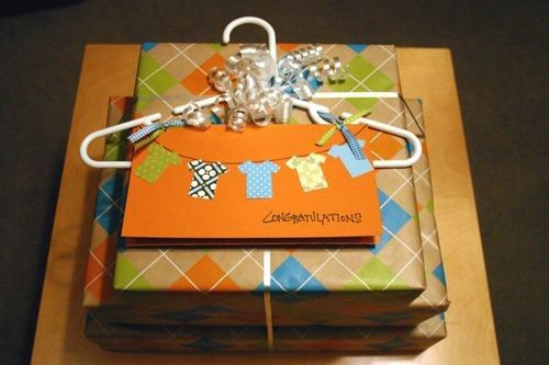 Baby Shower Gift Packaging Ideas : Gift wrapping ideas