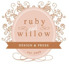 """LOGO - I definitely wanted an """"image"""" like a dress for example but I like the circular shape of this logo and the design around it.  Not sure I love these colors though :)"""