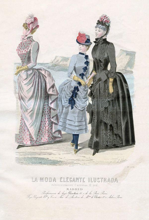 Rycina - moda paryska