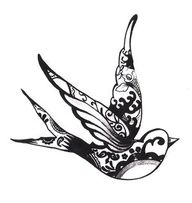 "mockingbird tattoos - Google Search I want this, with a quote from ""To Kill A Mockingbird"" on my thigh!"