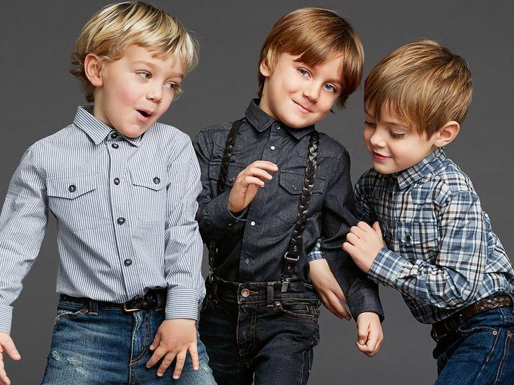 Самые модные стрижки для мальчиков. Стильные детские прически для мальчиков: фото