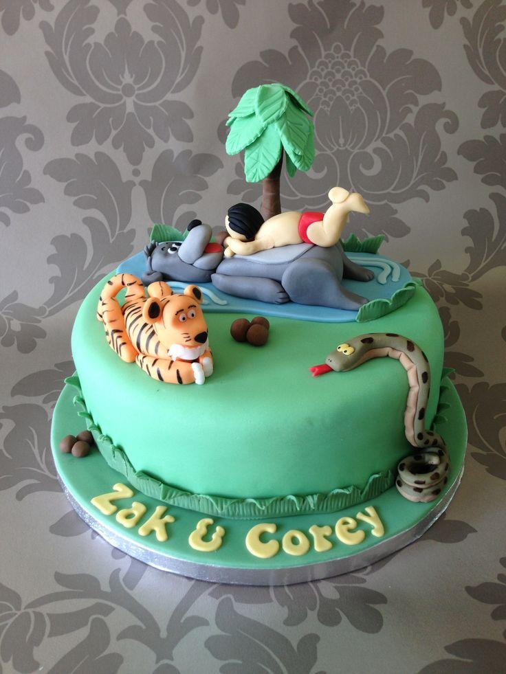 Cake Designs Jungle : Jungle Book Cake Boy cakes Pinterest