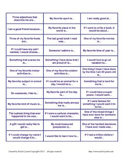 Creative Elementary School Counselor: Get To Know You Jenga